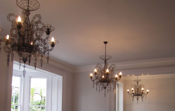 Lighting a large London house