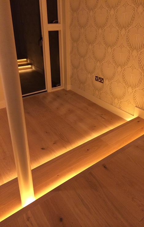 Hall Steps Lighting Design