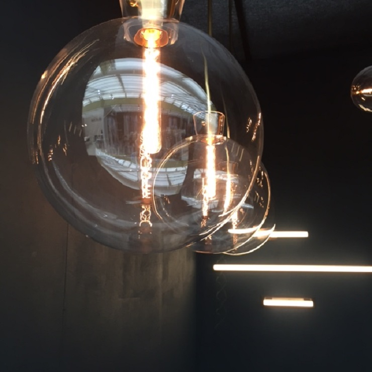 clear bubble glass lighting Decorex