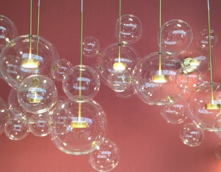 clear bubble glass lighting - Decorex