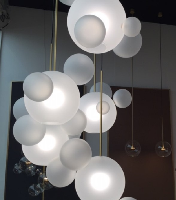 frosted bubble glass lighting - Decorex