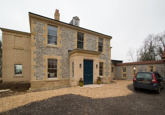 Classical Georgian newbuild with a contemporary twist